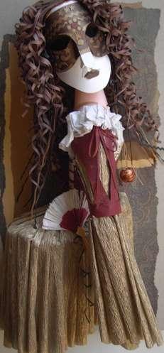 Masquerade Paper Dolls