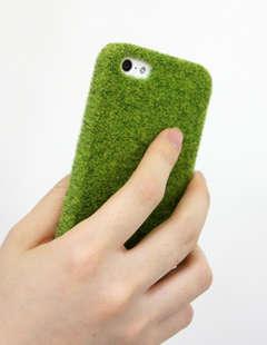 Grassy Gadget Cases