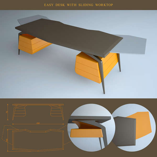 Flying Office Furniture