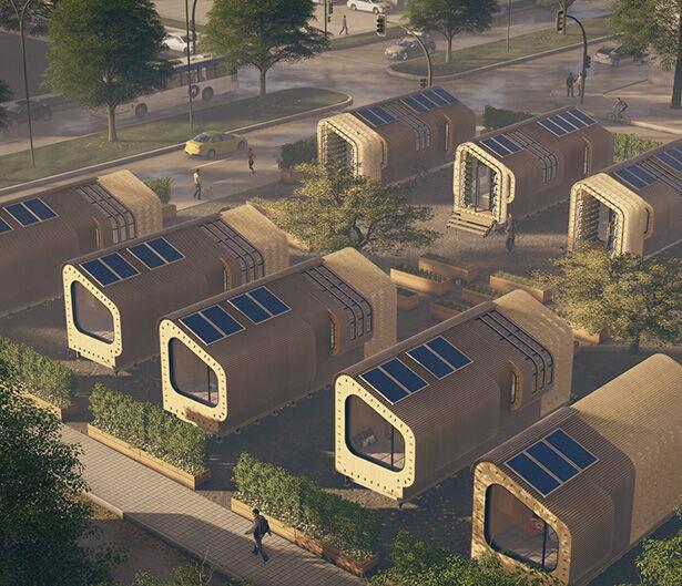 Sustainable Urban Prefab Homes
