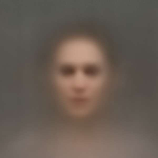 Hauntingly Blurred Portraits