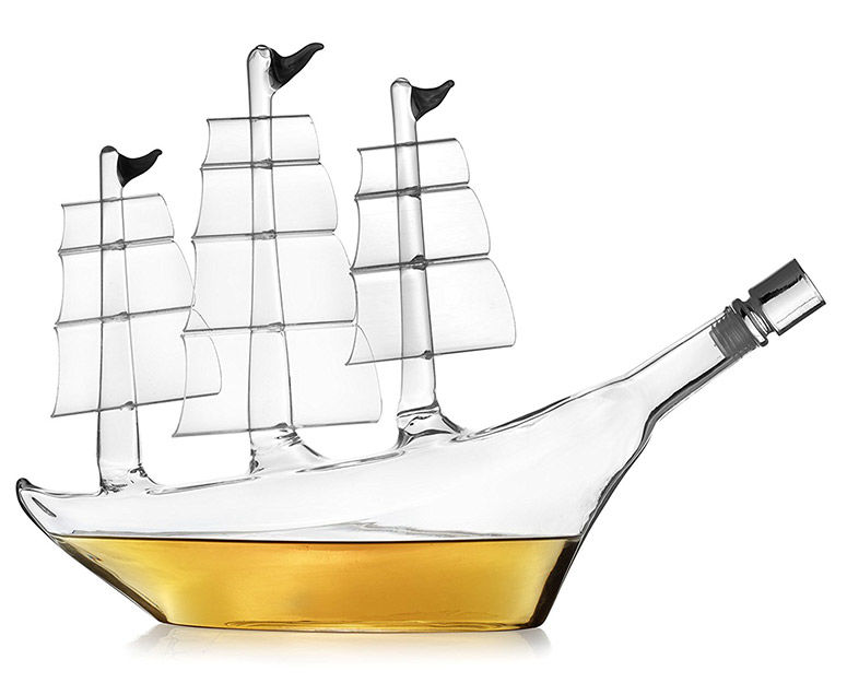 Pirate-Themed Whiskey Tools