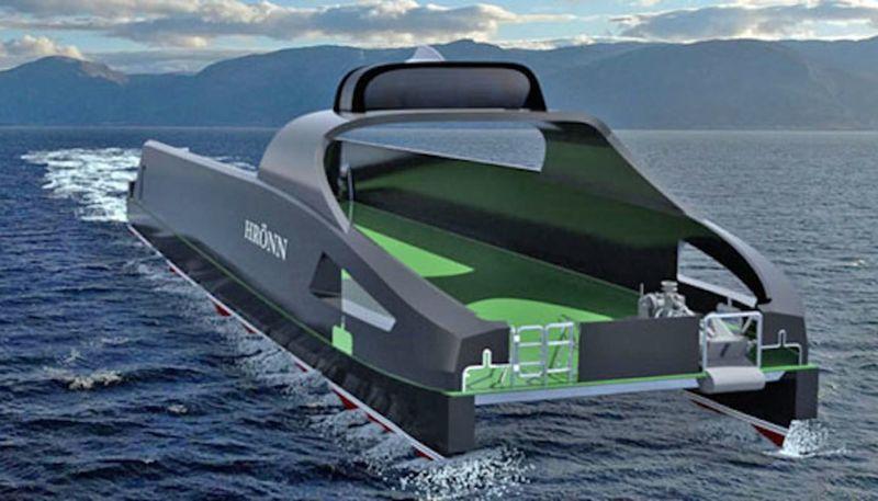 Automated Offshore Survey Vessels