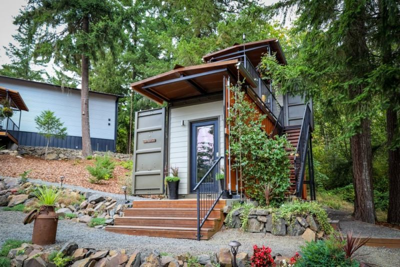 Two-Story Tiny Homes