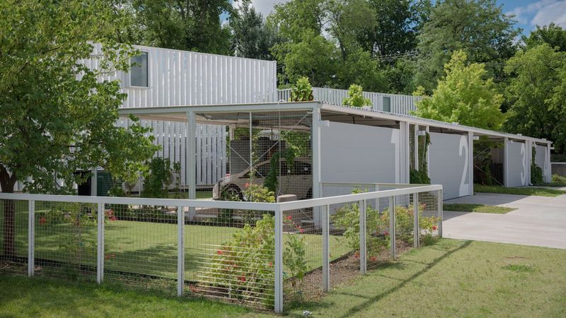 Shipping Container Housing Development