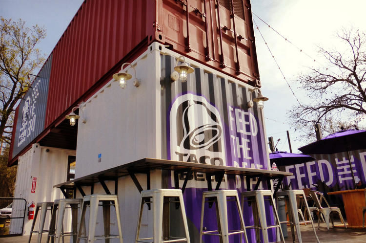 Shipping Container Pop-Ups