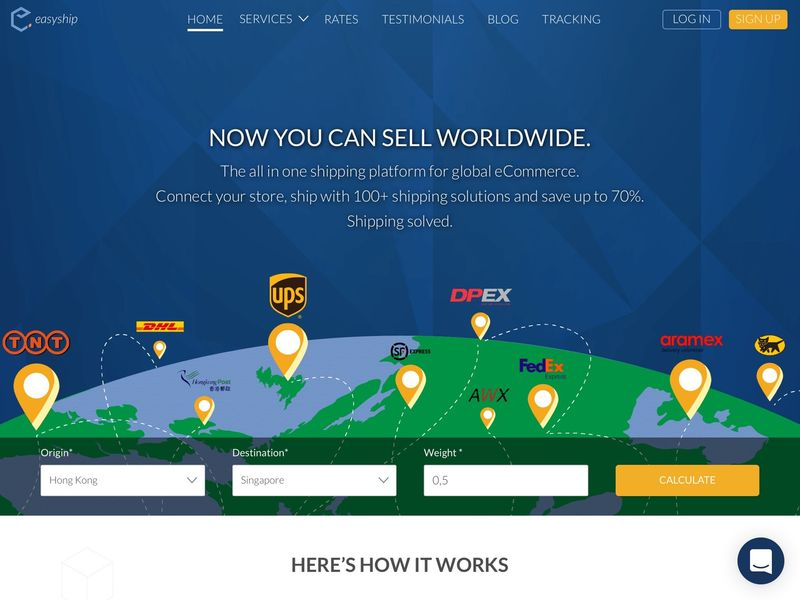 Global eCommerce Shipping Solutions