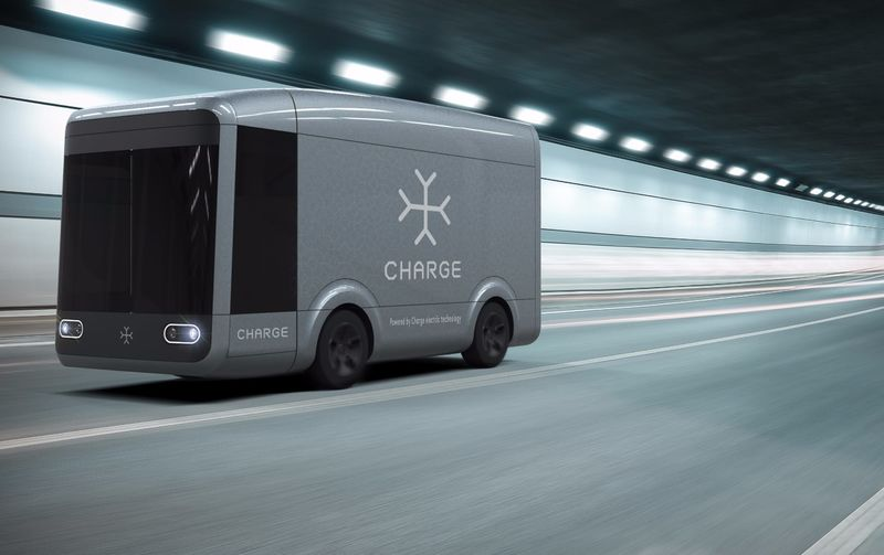 Efficient Electric Shipping Trucks