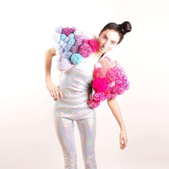 Neon Futuristic Outerwear