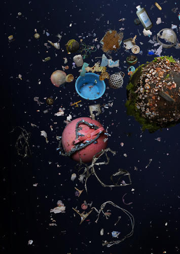 Tsunami Debris Photography