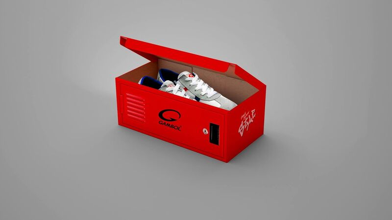 Locker-Like Shoe Boxes