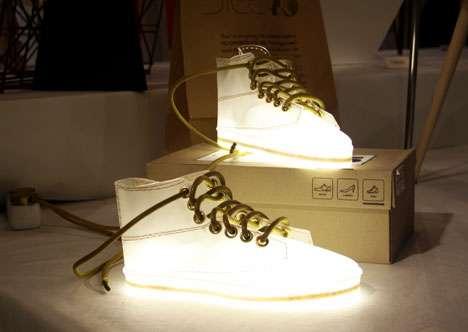 Glowing Footwear Lighting