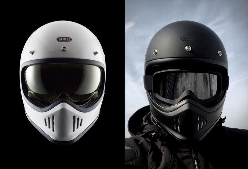 Retro Motocross Helmets