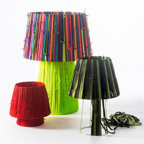 Charitable Shoelace Lamps
