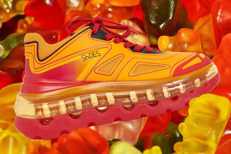 Bubble Sole Luxe Sneakers