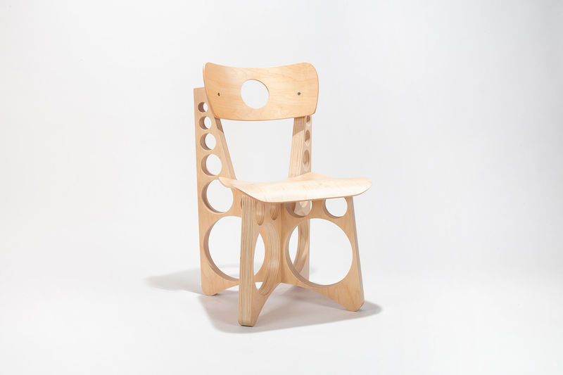 Engraved Accented Numbered Chairs