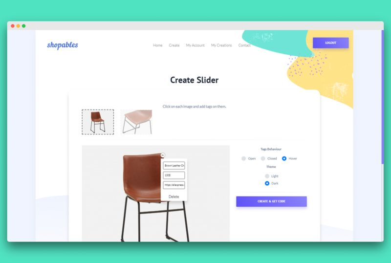 Shoppable Image Creation Platforms