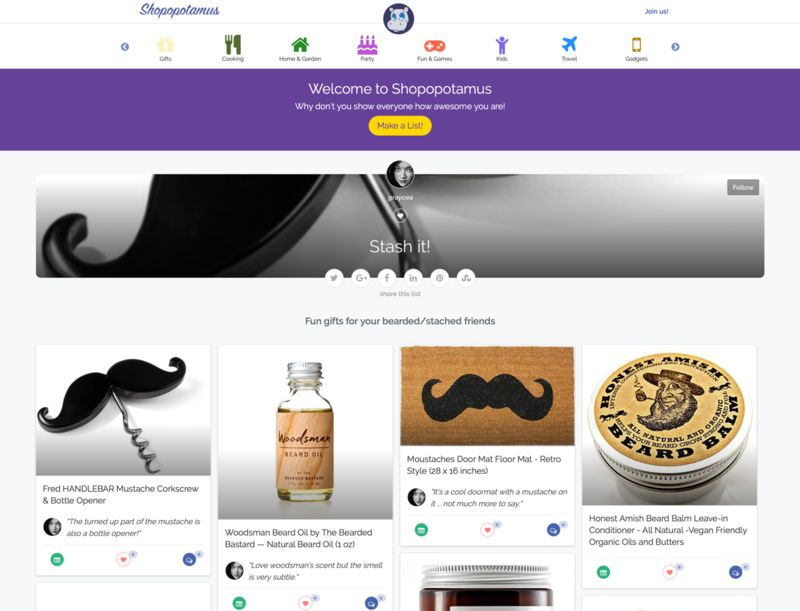 Socially Focused Shopping Sites