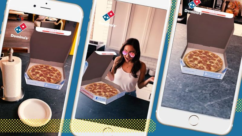 Pizza-Purchasing Social Lenses