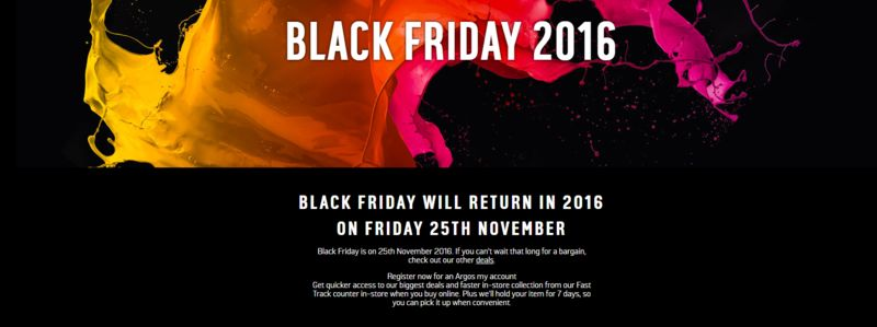 Black Friday Shopping Vouchers