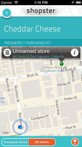 Geo-Tagging Grocery Applications