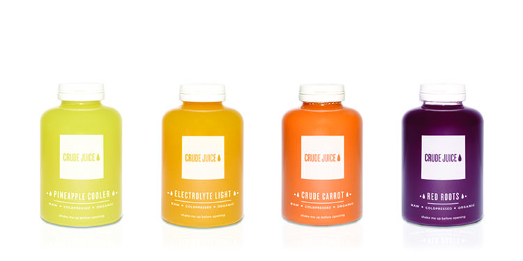 Miniature Cold-Pressed Juices