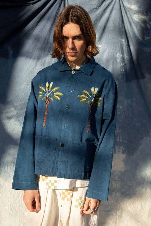 Chore Coat Graphic Jackets