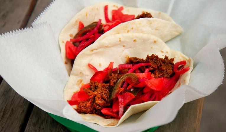 Seasonal Short Rib Tacos