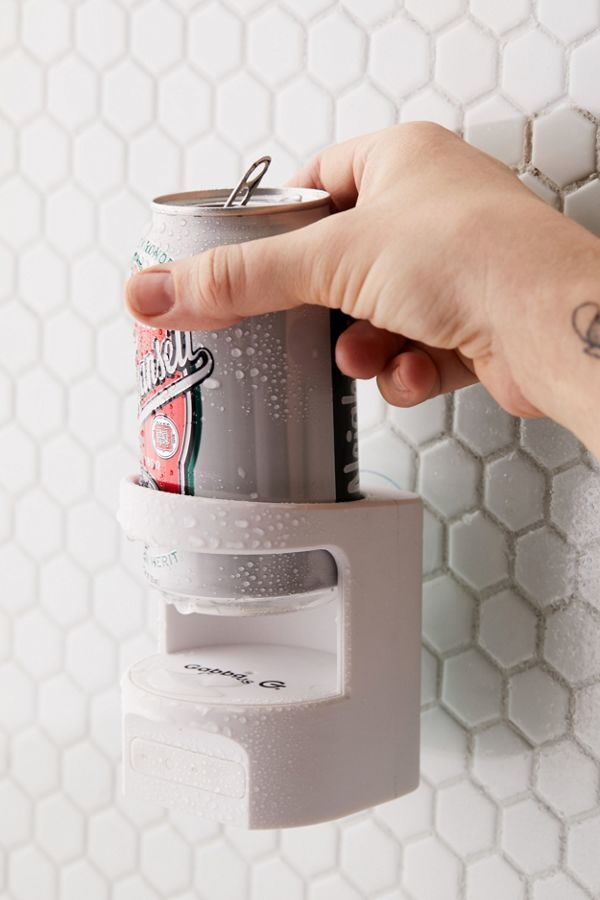 Beer-Holding Shower Speakers