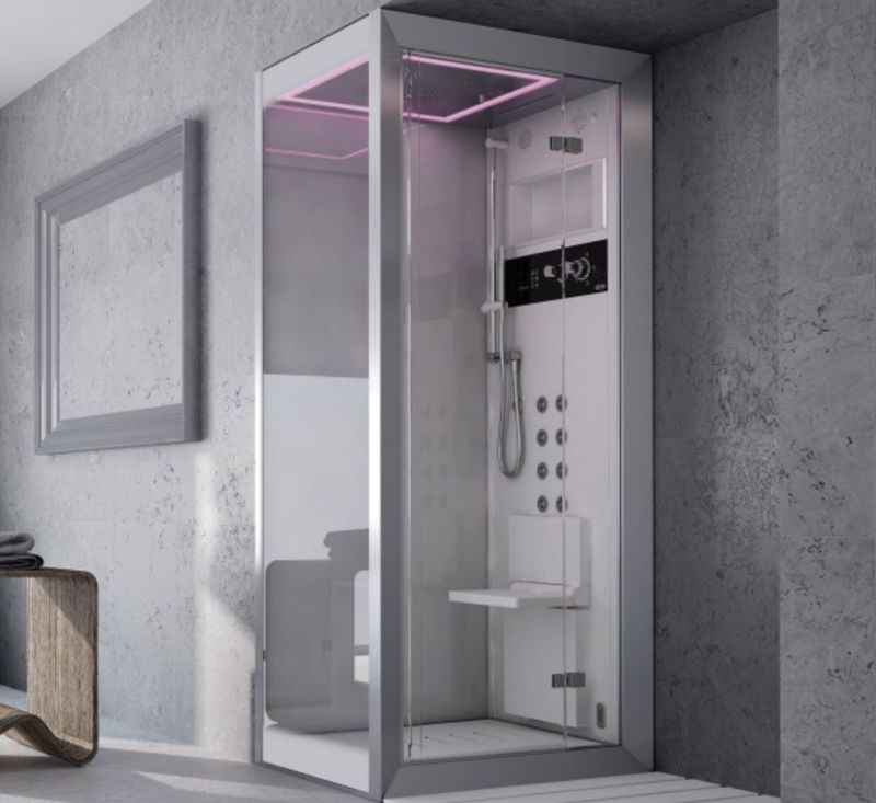 compact luxury showers