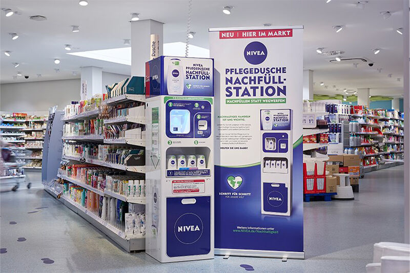 Intuitive Cosmetic Refill Stations