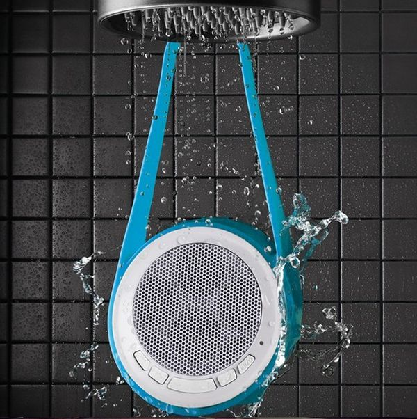 Water-Resistant Shower Speakers