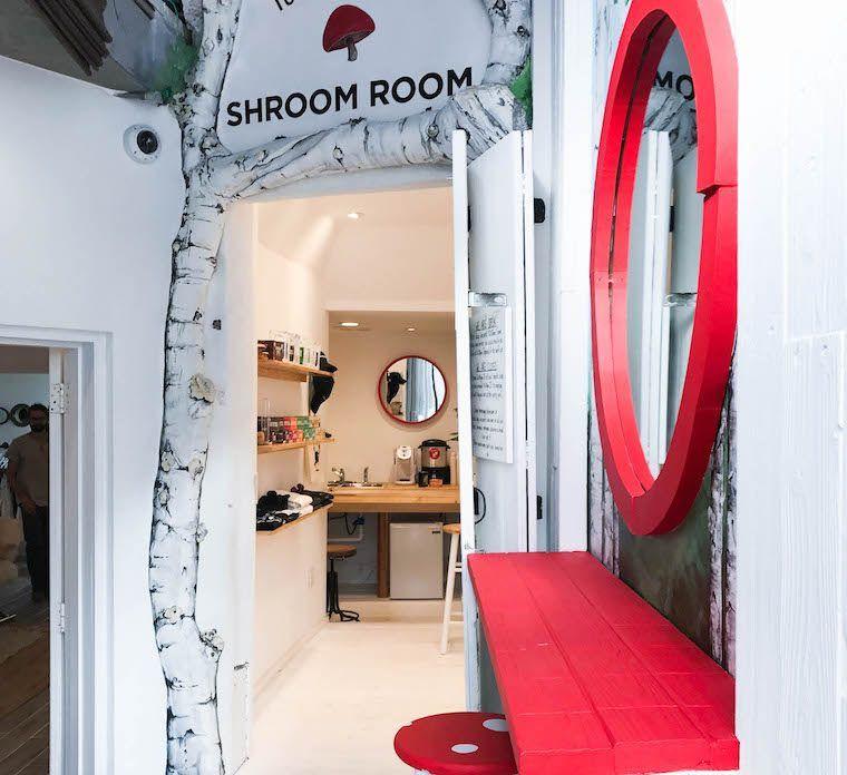 Adaptogenic Mushroom Cafes