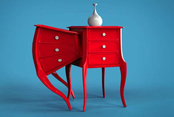 Curious Conjoined Furnishings
