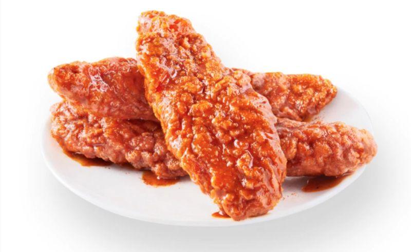 Peppercorn-Spiced Chicken Strips