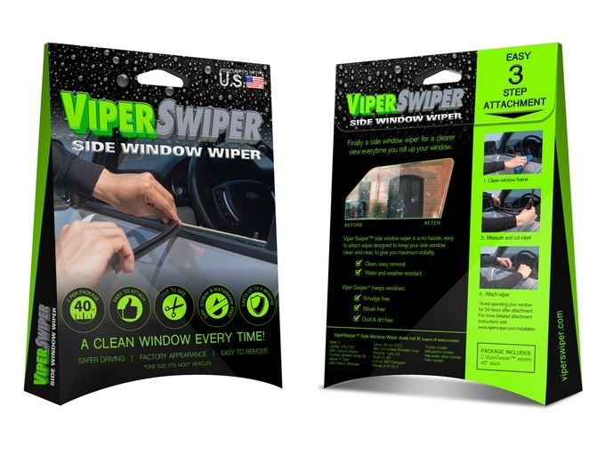 Side Window Wipers