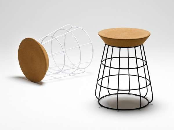 Caged Corked Seating