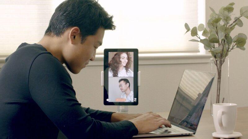 Always-On Colleague Video Displays