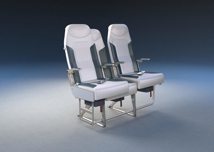 Space-Maximizing Airplane Seats