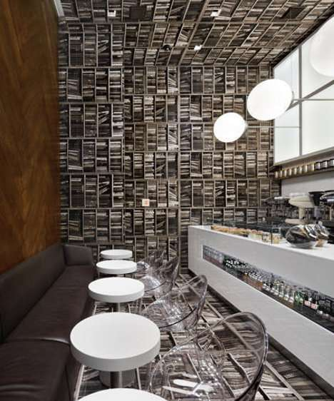 Rotated Interior Coffee Houses