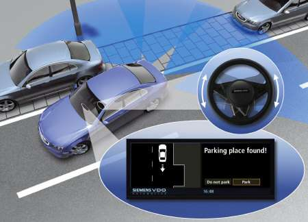 Siemens VDO Park Mate Automatically Parallel Parks Your Car