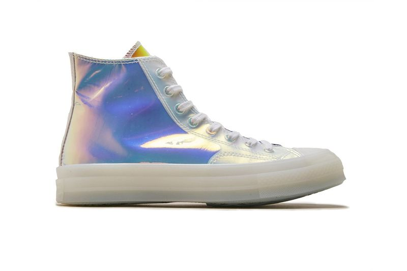 Summer-Ready Iridescent Sneakers