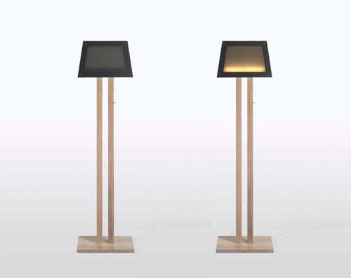 Ultra-Thin Floor Lamps
