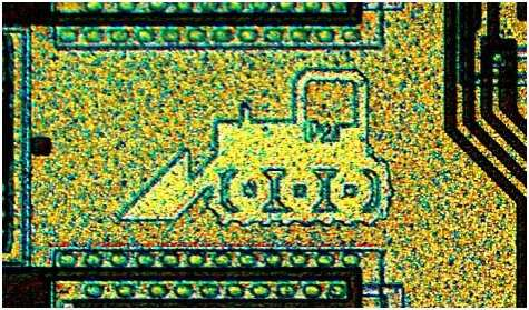 Silicon Chip Artwork