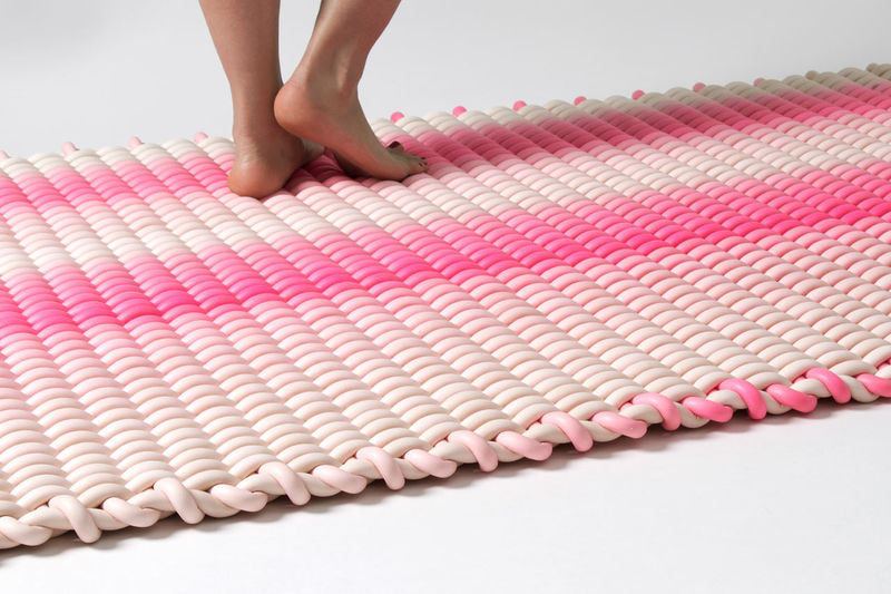 Vibrant Silicone Rugs