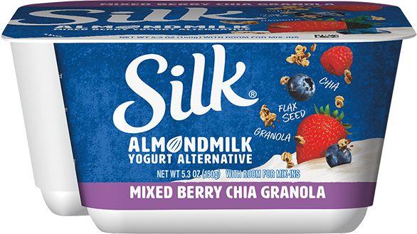 Textural Dairy-Free Yogurt Products