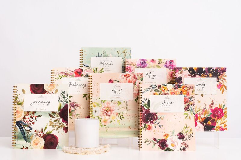 Monthly Wellness Planners