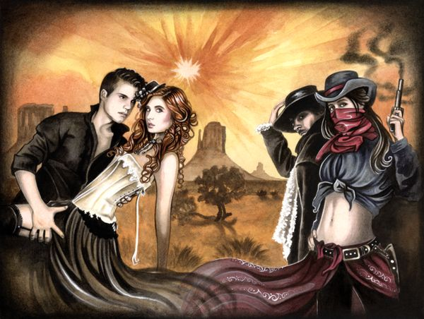 Interactive Romance Novels