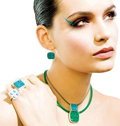 Elegant LEGO Jewelry