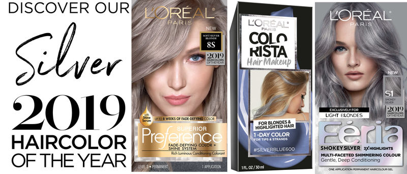 Silver Hair Color Collections